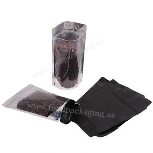 Foil Clear Stand Up Pouch