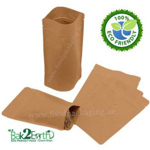 Eco-Friendly Stand Up Pouches With Valve